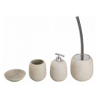 Set Tondo lavabo sabbia