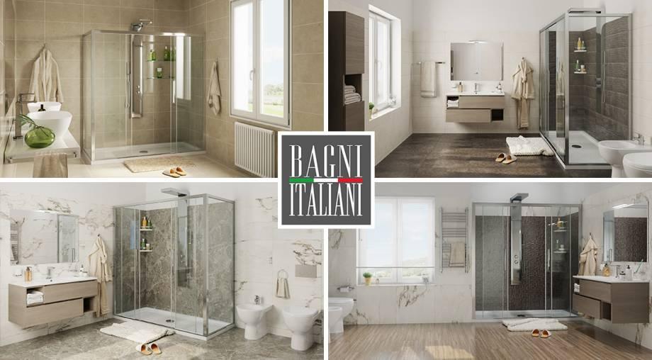 Ristrutturazione bagno in giorni solo con bagni italiani